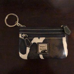 Dooney and Bourke coin purse | giraffe print